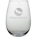 HARMONY STEMLESS WINE GLASS Etched