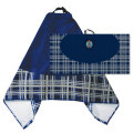 IMPACT LARGE TOWEL TARTAN - Embroidered