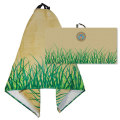 IMPACT LARGE TOWEL GRASS - Embroidered